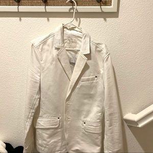 EUC Calvin Klein Off-White Blazer. Medium